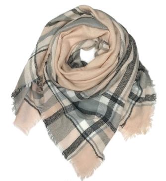 Quagga Acrylic Blanket Scarf