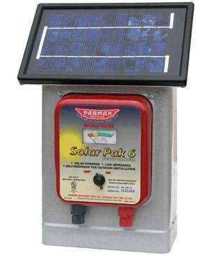 Parmak Solar-Pak 6V 25-Mile Fence Charger