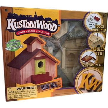 Hurricane Toys LTD. Wooden Bird House Series Assorted