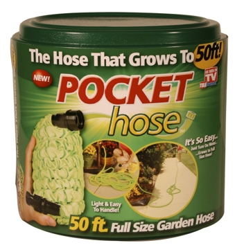 Telebrands 50ft Pocket Hose Garden Hose