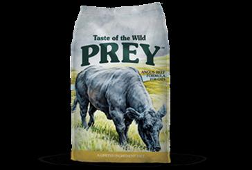 Taste of the Wild Prey Angus Beef Dry Cat Food