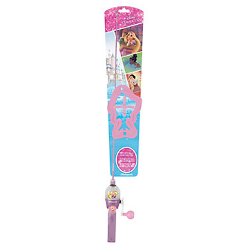 Shakespeare Disney Princess Lighted Youth Fishing Kit