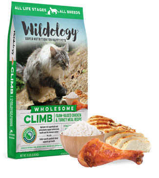 Wildology Climb Chicken & Turkey Meal Cat Food 15lb