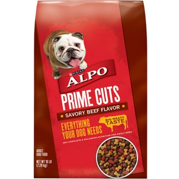 Purina Alpo Prime Cuts Savory Beef Adult Dry Dog Food