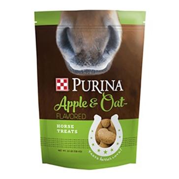 Purina Apple & Oat-Flavored Horse Treats