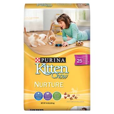 Purina Kitten Chow Nurturing Formula Dry Cat Food