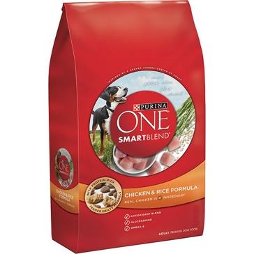 Purina One Smartblend Chicken & Rice Formula Adult Premium Dry Dog Food
