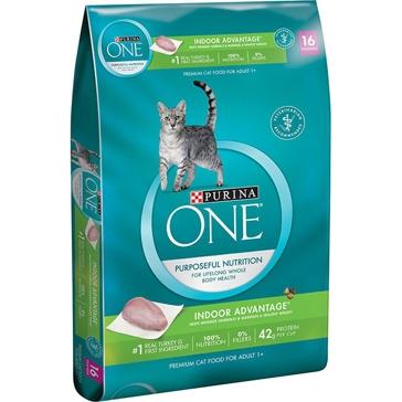 Purina One Indoor Advantage Premium Dry Cat Food