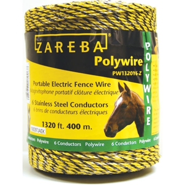 Blitzer Poly Electric Fence Wire 1,320' 6 Conductors PW1320Y6-Z