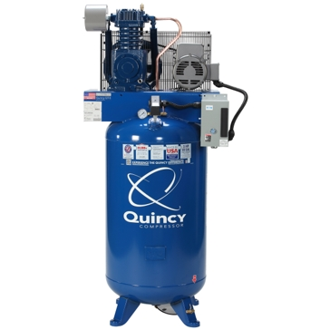 Quincy Compressor 80Gal 5HP Two Stage 230V Air Compressor