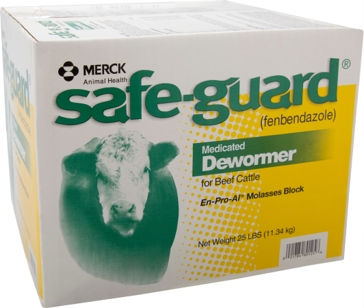 Safeguard En-Pro-Al Molasses Block 25lb