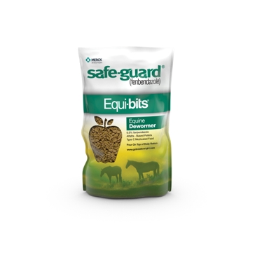 Safeguard Equibits Horse Dewormer Alfalfa Pellets 1.25lb