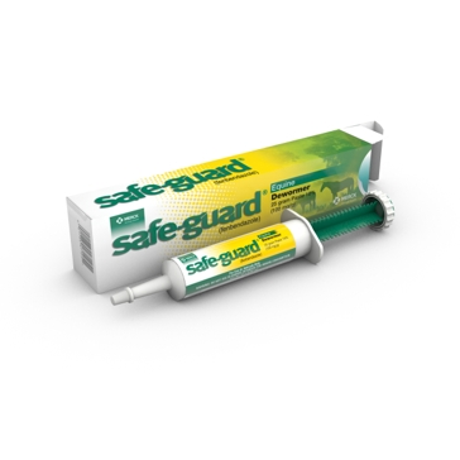 Safeguard 25g Horse Dewormer Paste Injector 049683