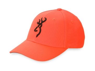 Browning Safety Blaze Orange Buckmark Cap