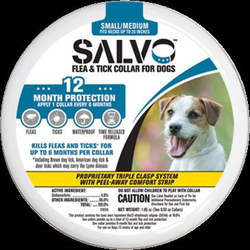 Salvo Small Dog Flea Collar