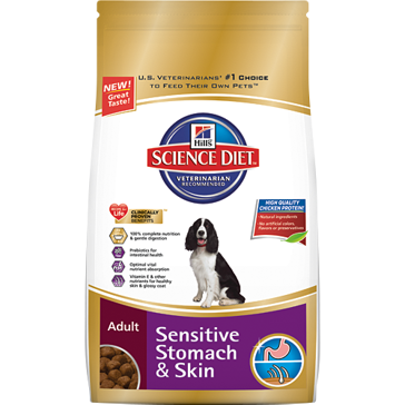 Hill's Science Diet Adult Sensitive Stomach and Skin Dry Dog Food 30lb