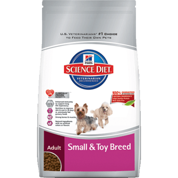 Hill's Science Diet Adult Small & Toy Breed Dry Dog Food 4.5lb