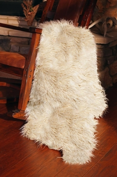 Carstens Faux Sheepskin Throw