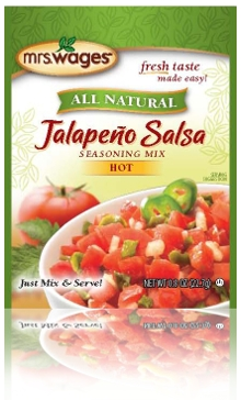 Mrs. Wages Jalapeno Hot Salsa Instant Mix 0.8oz