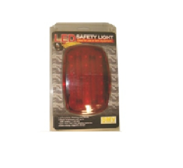 SMV Industries Battery Powered LED Red Safety Light