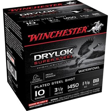 "Winchester DryLok Super Steel HV 10ga 3-1/2"" BB-Shot"