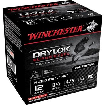 "Winchester Drylok Super Steel HV 12ga 3-1/2""  BB-Shot"