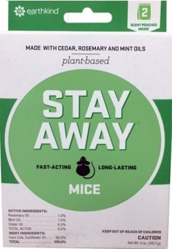 Earth-Kind Stay Away Mice Rodent Repellent