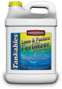 Gordon's Tankables Lawn & Pasture Fertilizer 27-0-2 2.5Gal