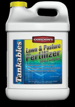 Gordon's Tankables Lawn & Pasture Fertilizer 27-0-2 2.5Gal