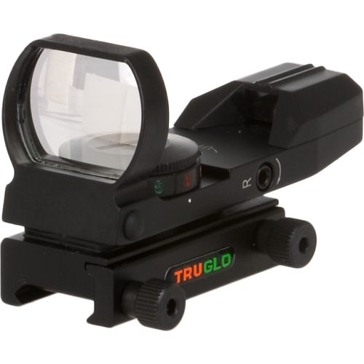 TruGlo Open Full Reticle Black Dual Color Scope TG8370B