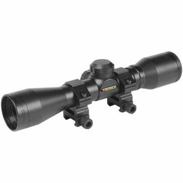 TruGlo  4x32mm Crossbow Matte Black Scope w/Rings TG8504B3