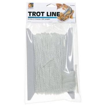 Danielson Trot 150' Line 25 4/0 Hooks TL2540
