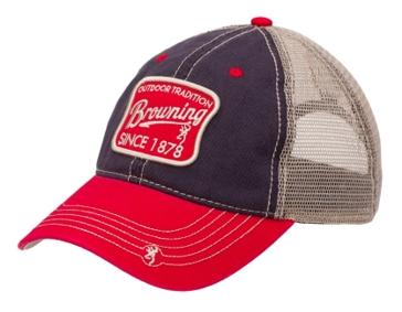 Browning Trenton Black/Red Cap