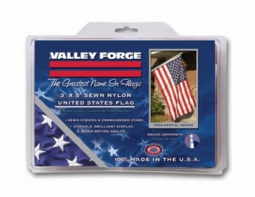 Valley Forge Nylon 3ft x 5ft American Flag