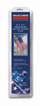 Valley Forge Nylon 2.5 x 4ft American Flag