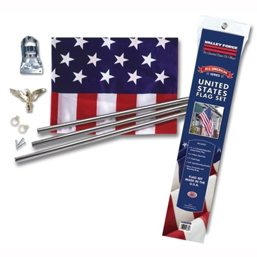 Valley Forge All-American Series 3-Piece Pole Kit