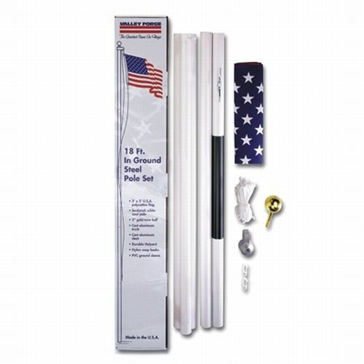 Valley Forge Large Flag In-Ground Pole Kit