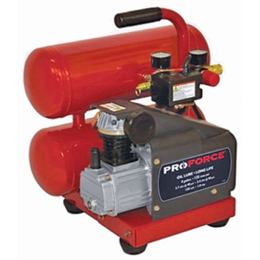 Powermate Pro-Force 4 Gallon Twin Stack Air Compressor VSF1080421