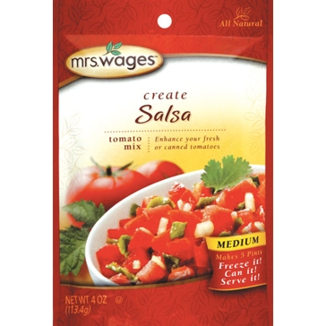 Mrs. Wages Medium Salsa Tomato Mix 4oz