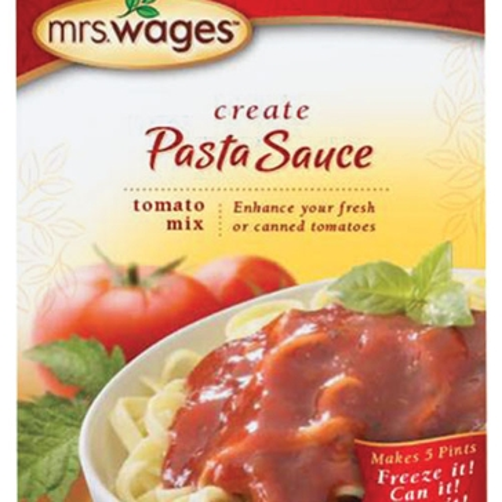 Mrs. Wages Pasta Sauce Tomato Mix 5oz