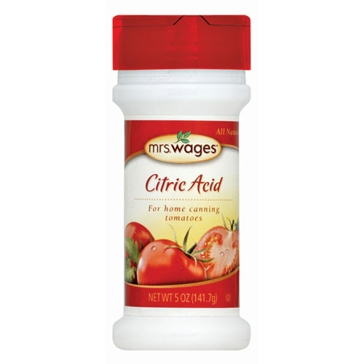 Mrs. Wages Citric Acid 5oz