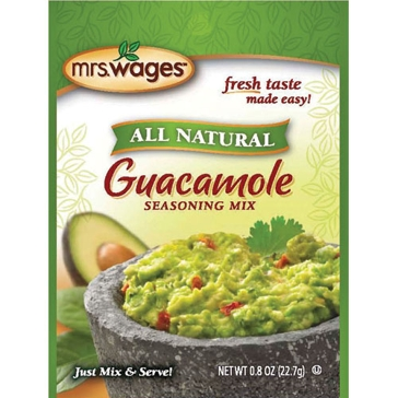 Mrs. Wages Guacamole Seasoning Instant Mix 0.8oz