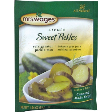 Mrs. Wages Sweet Pickles Refrigerator Mix 1.94oz