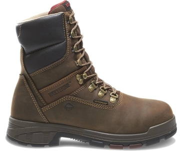 """Wolverine Men's Cabor EPX™ PC Dry Waterproof 8"""" Boots W10317"""