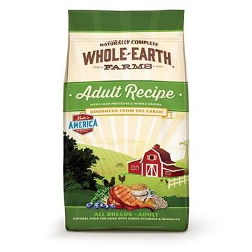 Whole Earth Farms Adult Recipe Dry Dog Food