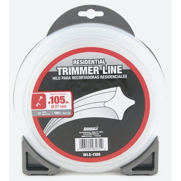 Arnold Residential Trimmer Line .105x180ft WLS-1105