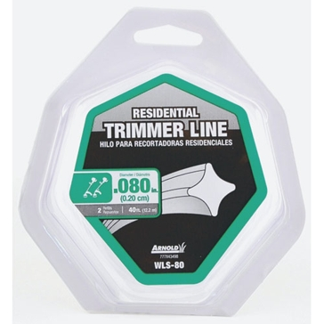 Arnold Residential Trimmer Line .080x40ft WLS-80