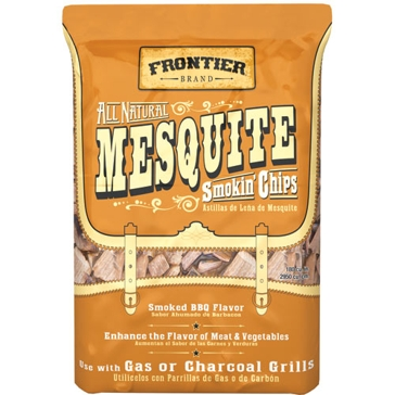 Frontier 2.25lb All-Natural Mesquite Smoking Chips WMC02