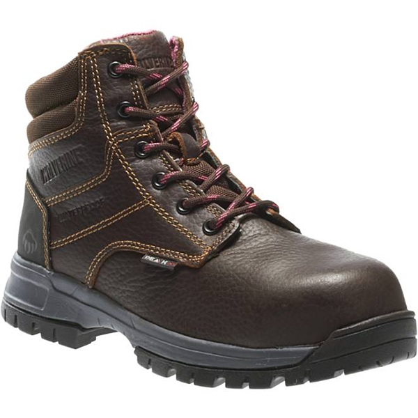 ceee94f1df0 Carhartt Womens 6in Rugged Flex Work Boots Brown CWF5355