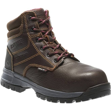 Wolverine Womens Piper Waterproof Leather Work Boots